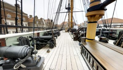 The National Museum of the Royal Navy: HMS Trincomalee 3D Model